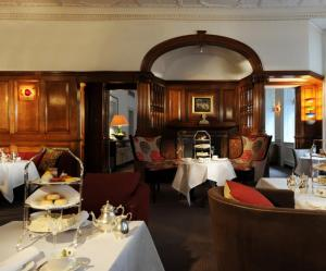 Interior for The English Tea Room at Browns Hotel Afternoon Tea in Mayfair, London